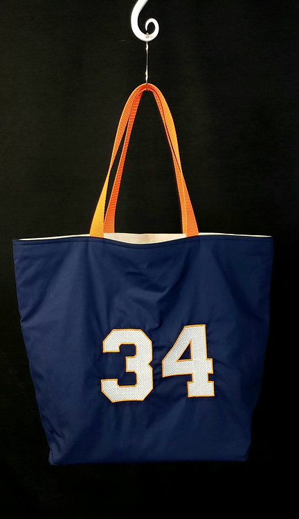 Number 34 Reusable Gusseted Market Bag