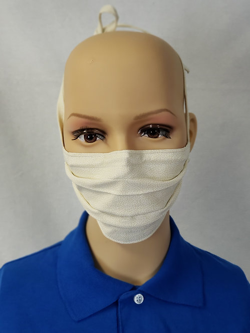 Basic Beige Cloth Face Covering