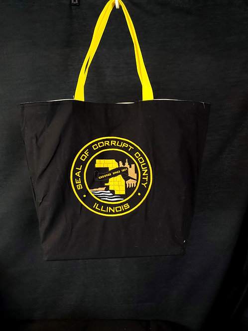 Corrupt County Reusable Gusseted Market Bag