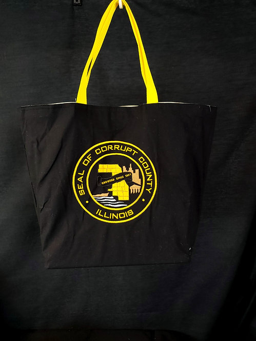 Corrupt County Reusable Gusseted Market Bag