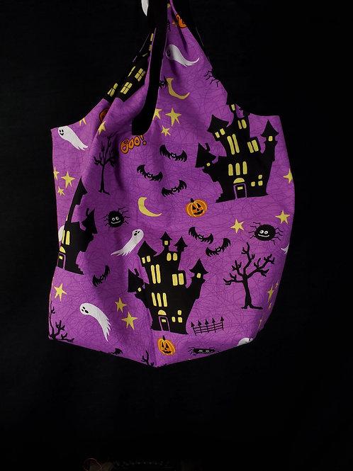 Haunted House Reusable Shopping Bag