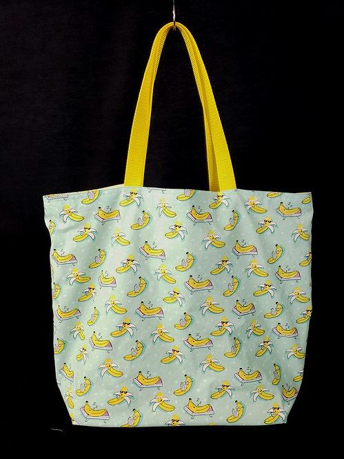 Chilling Banana's Reusable Gusseted Market Bag