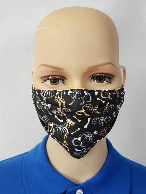 Animal Skeletons Cloth Face Covering