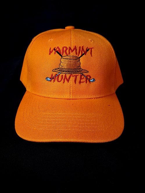 Orange Varmint Hunter Baseball Hat