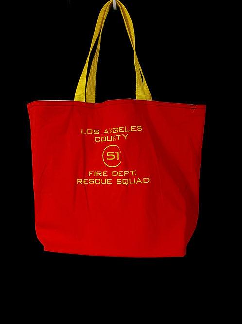 LA County Squad 51 Reusable Gusseted Market Bag