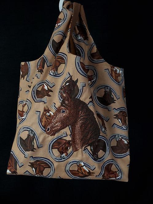 Horse Reusable Shopping Bag