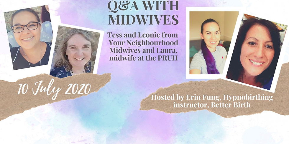 Q&A with midwives Leonie, Tess & Laura