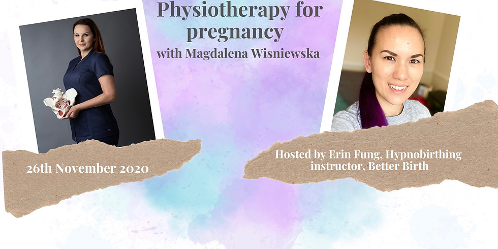 Physiotherapy for pregnancy with Magdalena Wiśniewska