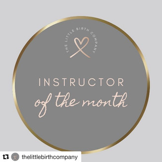 Little Birth Company Instructor of the month