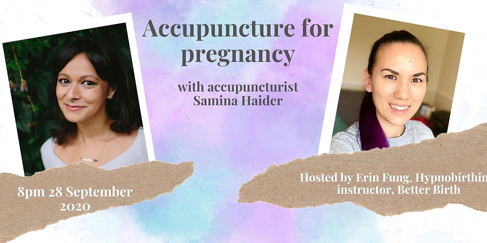 Acupuncture for pregnancy Q&A with Samina Haider