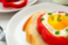Bell Pepper Egg Cups