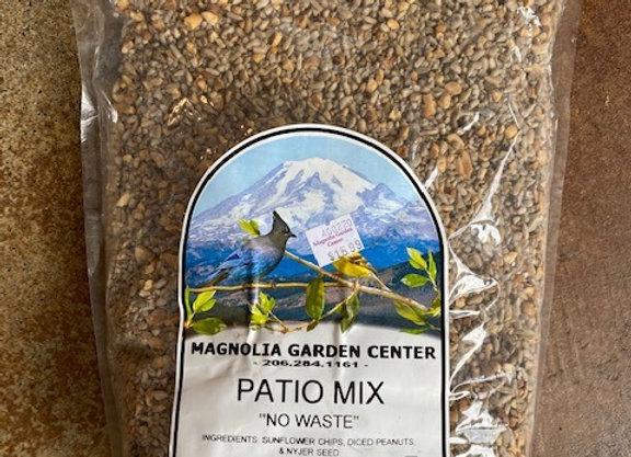 No Waste Patio Mix Bird Seed 5 lb.