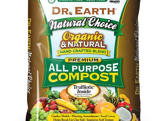 Dr. Earth Organic All Purpose Planting Compost 1.5 Cu Ft