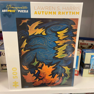 Lawren S Harris Autumn Rhythm