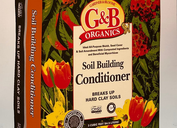 Gardener & Bloom Soil Building Conditioner 3 cu ft
