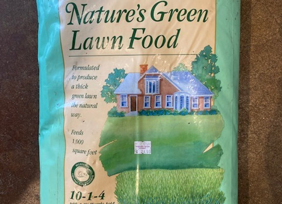 EB Stone Natures Green Lawn Food 20 lb.