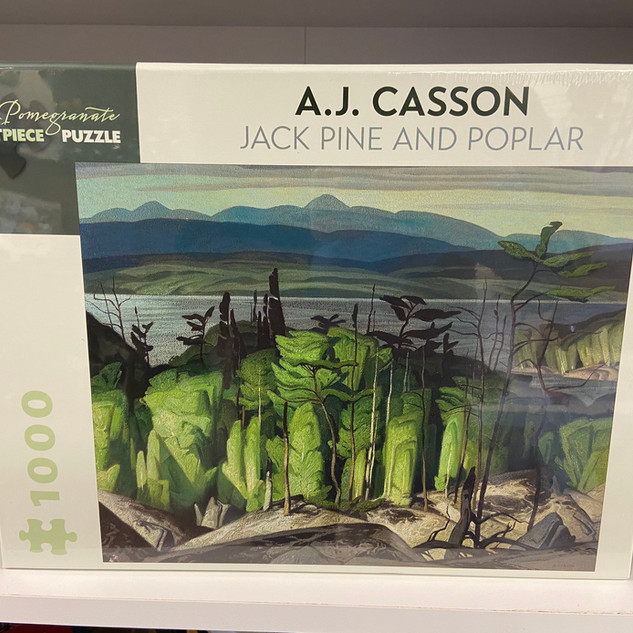 AJ Casson Jack Pine and Poplar