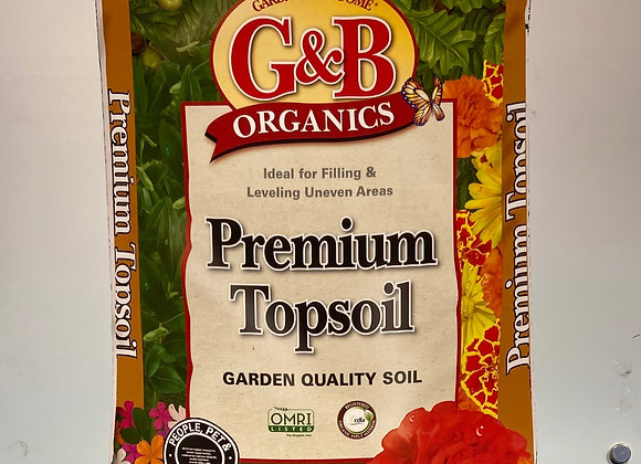 Gardener & Bloom Premium Topsoil 1 cu ft