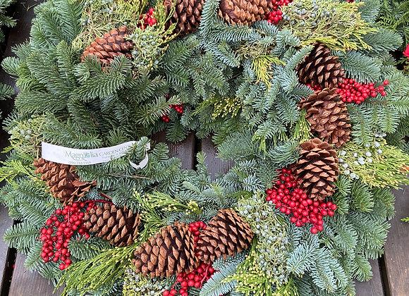 Canella Berry Wreath