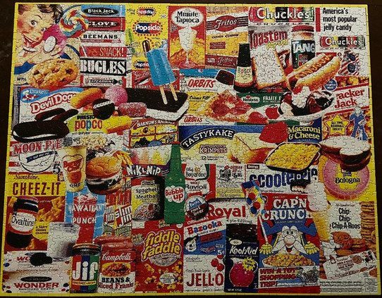 Old Food Favorites Puzzle