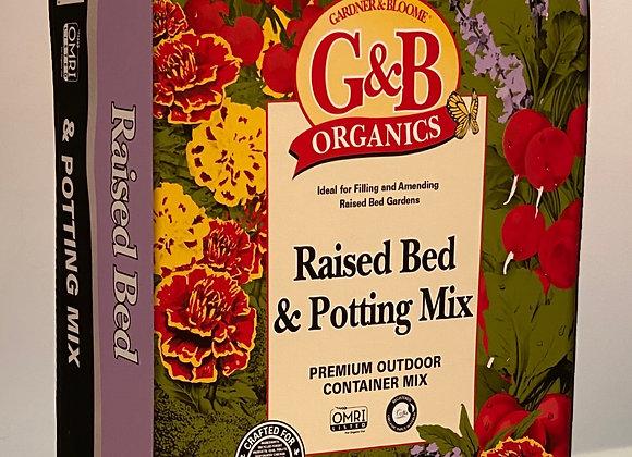 Gardener & Bloom Raised Bed & Potting Mix 3 cu ft