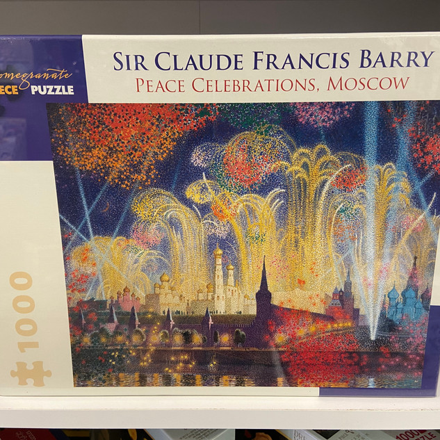 Sir Claude Francis Barry Peace Celebrations, Moscow