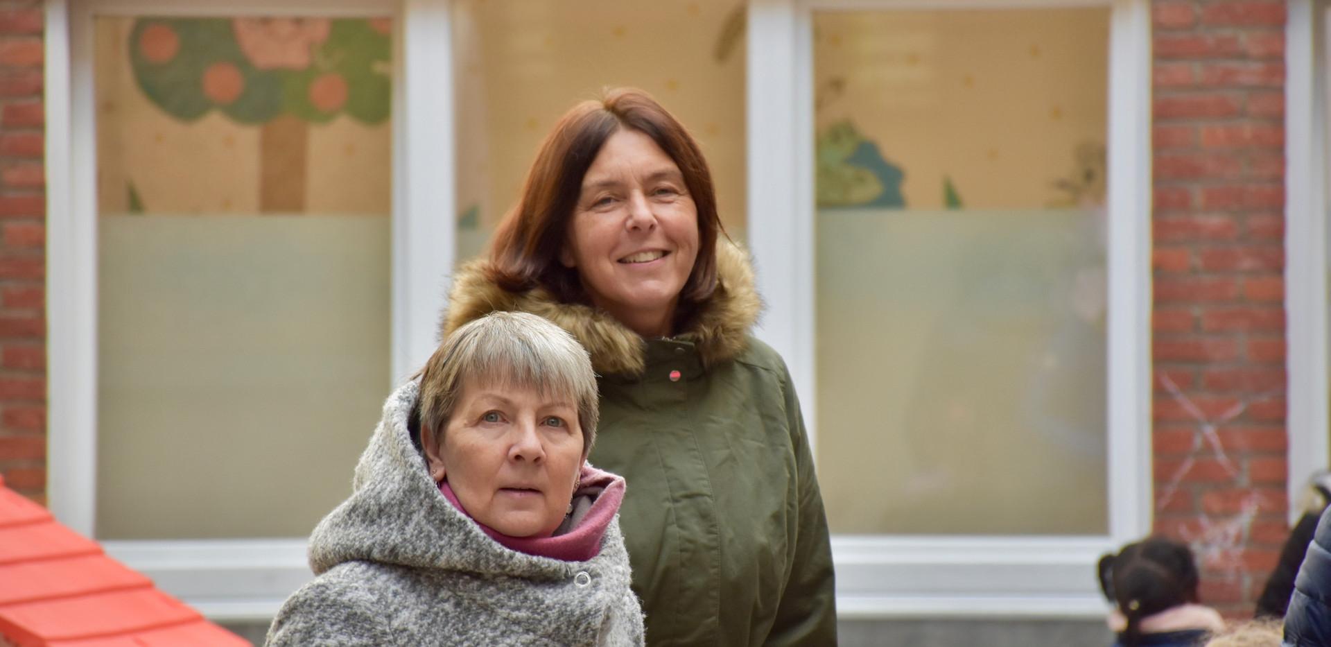 Mme Joëlle et Mme Nadine (de gauche à droite)