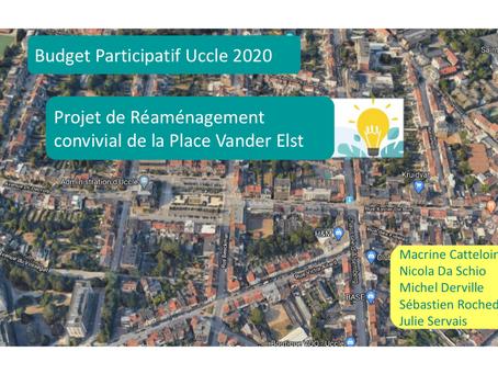 Budget participatif Uccle - Projet de réaménagement de la Place Vander Elst