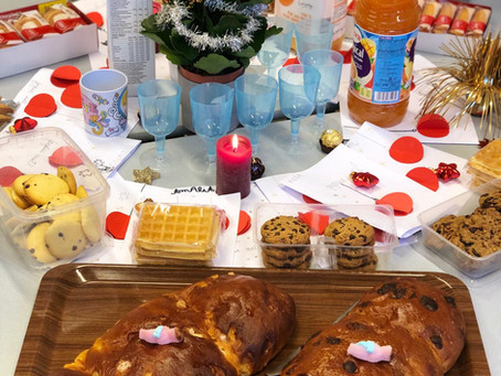 Petit déjeuner de Noël !