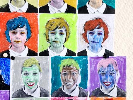 A la manière d'Andy Warhol… (3C-4C)
