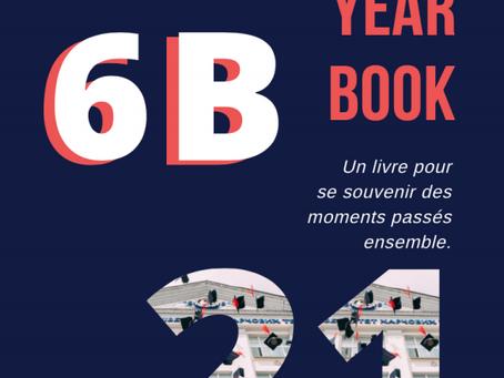 La 6B présente son Yearbook : un recueil de souvenirs des belles années passées à Saint-Vincent.