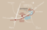 plan d'accès du restaurant Les Etangs de l'Abbaye