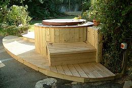 Hot tub install with isolator ServiceBuddy