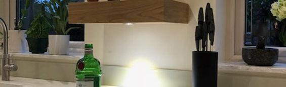 Kitchen unit light installed by Servicebuddy