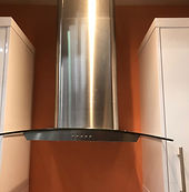Cooker hood installed from ServiceBuddy