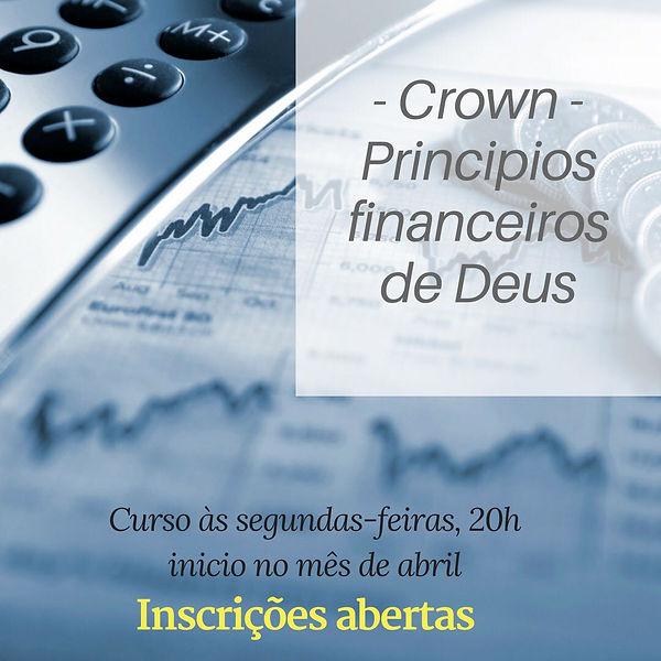 CROWN - PRINCÍPIOS FINANCEIROS DE DEUS
