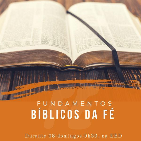 Fundamentos Bíblicos da Fé