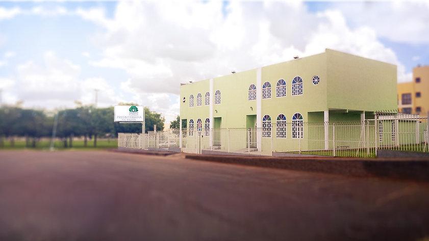 Fachada da Primeira Igreja Presbiteriana do Brasil no Cruzeiro