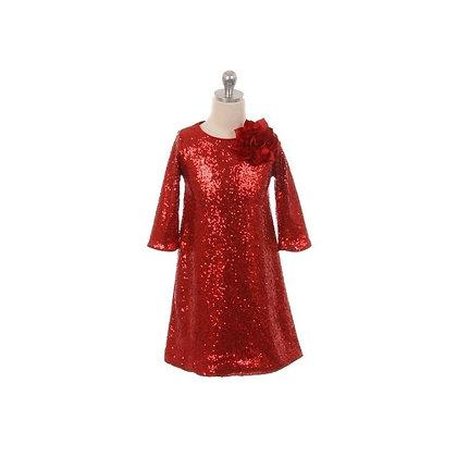 Vestido Fiesta de Lentejuela
