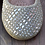 Thumbnail: Zapatos Niña Dorados Con Pedrería