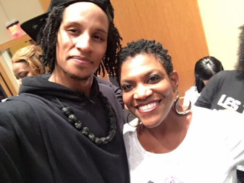 Larry Bourgeois of Les Twins