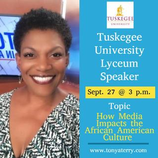 Tuskegee University Speaking Engagement
