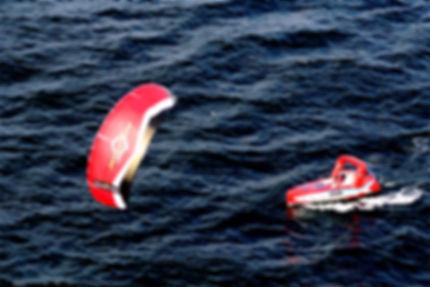 Anne Quéméré - Atlantique en kiteboat solo