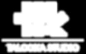 Talooka Studio Logo in White