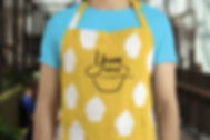 Designed Apron mock up used on artboard.studio