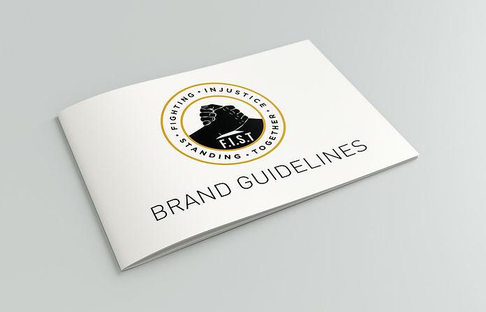 Brand Guide mockup