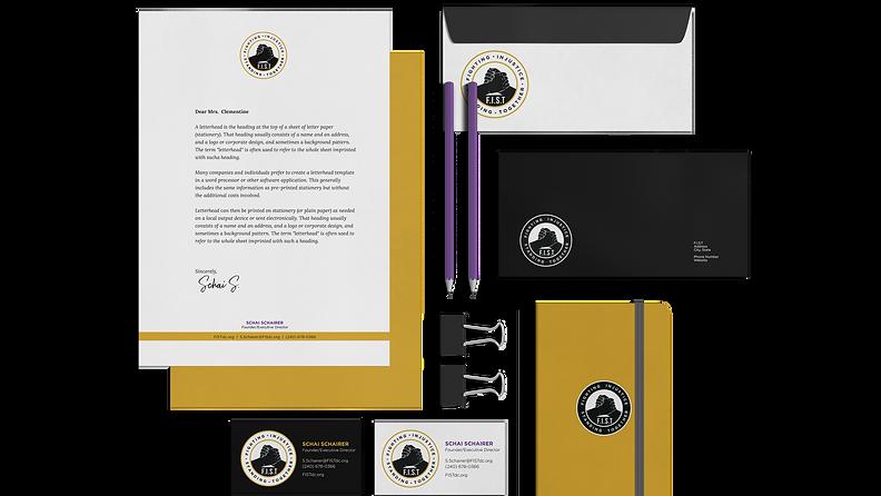 Talooka Studio Brand design for F.I.S.T