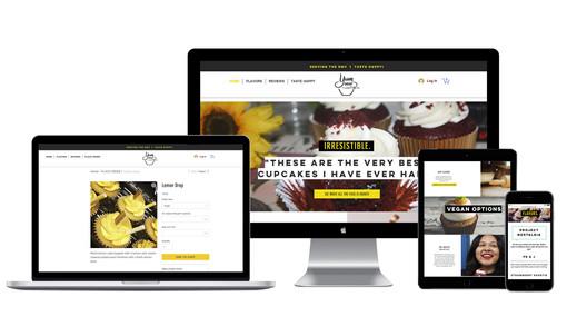 YumDrop Cake Co. Responsive Website