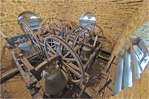 Ewhurst Church Bells - Bell Frame