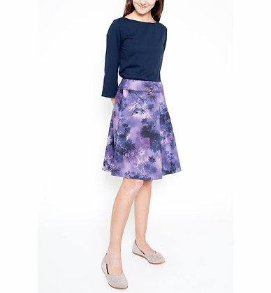 Amelia Print Skirt